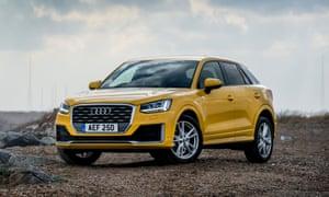 Audi Q Car Review Technology The Guardian - Audi car q2