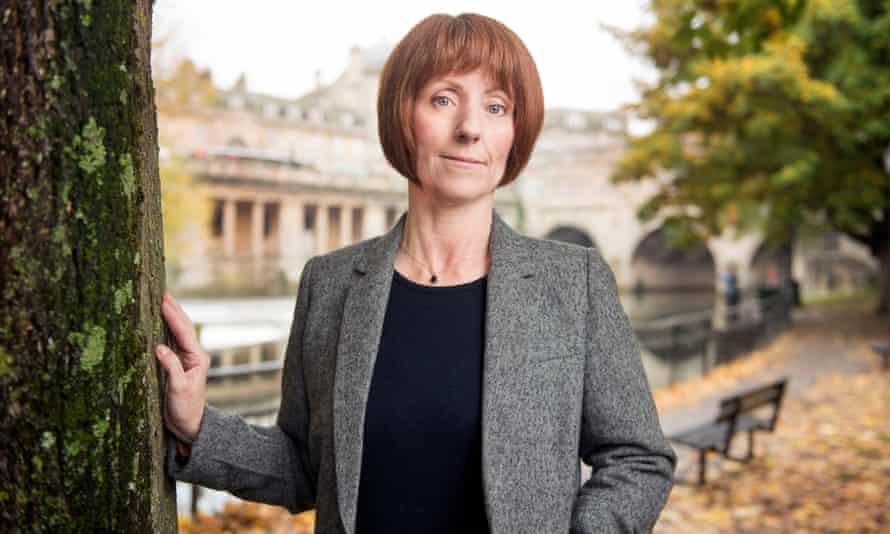 Professor Carole Mundell, near her base at Bath University last year.