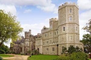 Home and away: Netley Castle, Southampton