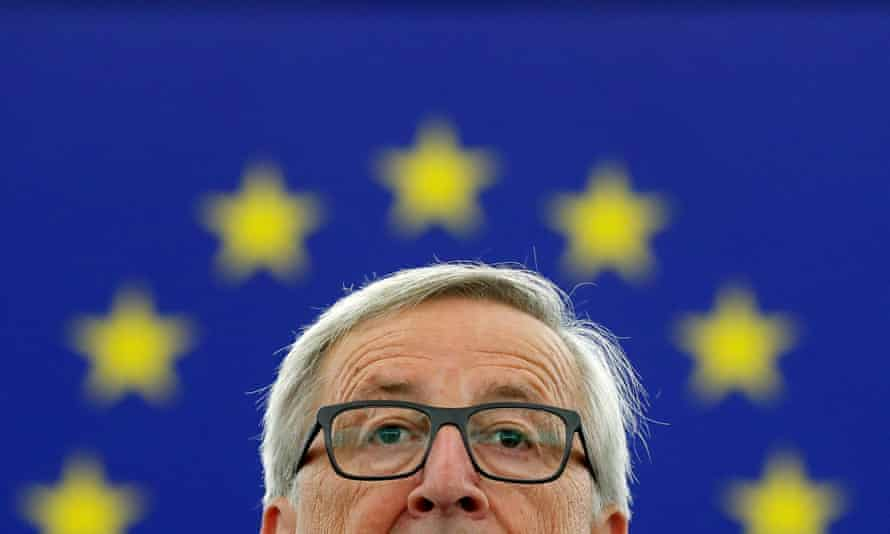 The European commission president, Jean-Claude Juncker, devoted just two minutes to the issue of Brexit during his one-hour-long speech.