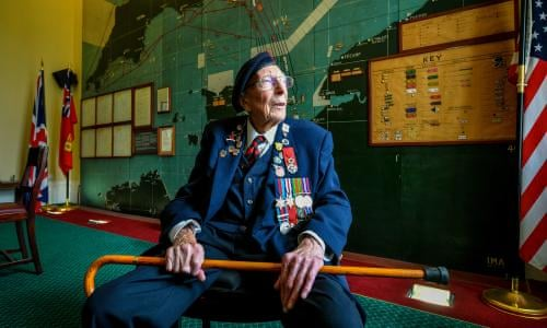I count myself lucky': D-day remembered on the 75th