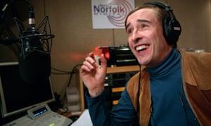 Alan Partridge in the North Norfolk Digital studio.