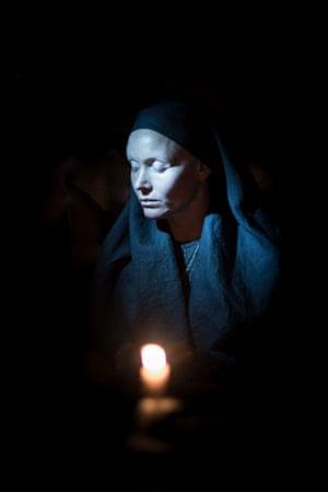 Essie Davis as a nun