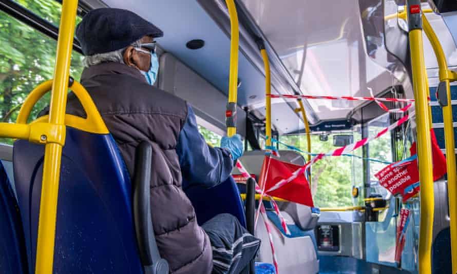 On board a London bus