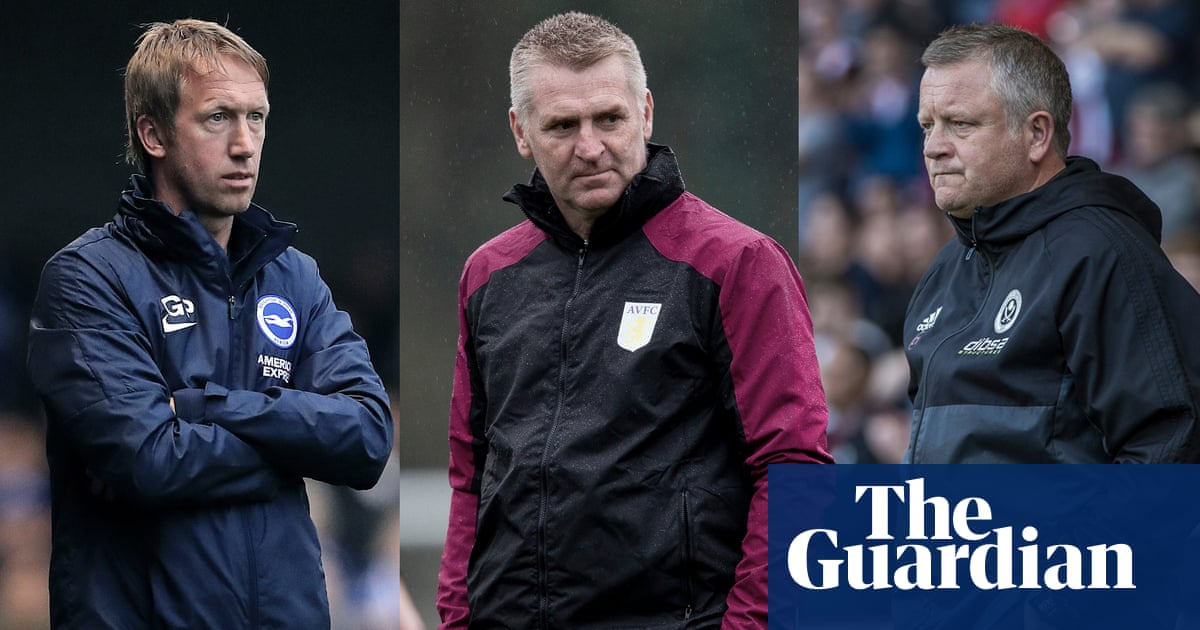 Enter English managers to show their worth and cause Premier League surprise