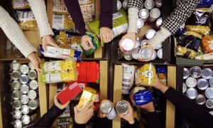 Seven out of 10 families who use Trussell Trust food banks have dependent children.