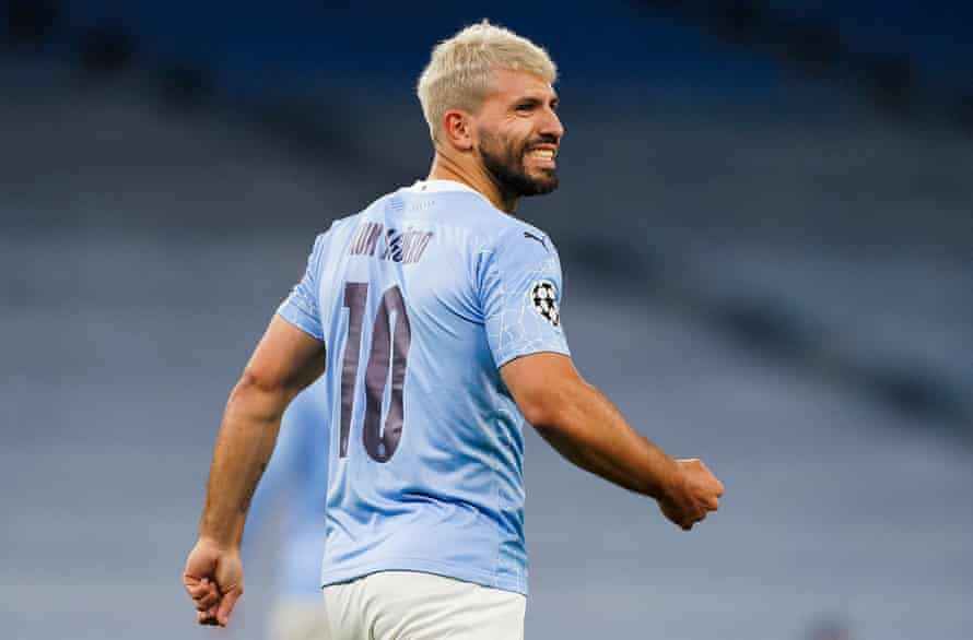 Sergio Agüero is 'getting better', says Pep Guardiola. 'I don't know about Liverpool … after the international break for sure he'll be ready.'