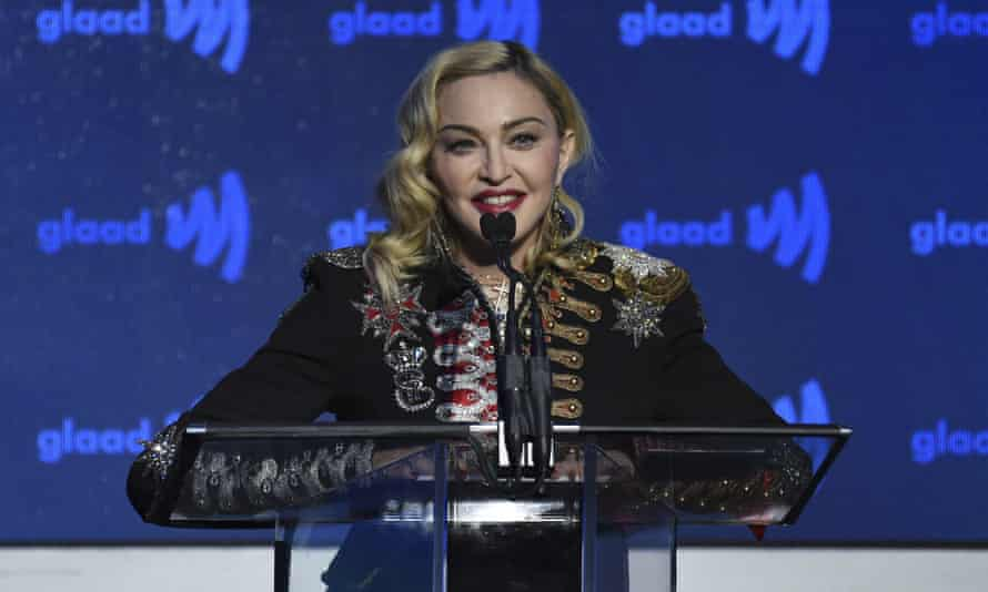 Madonna pictured in 2019.