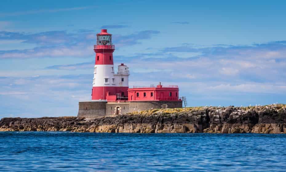 Longstone lighthouse, Farne Islands.