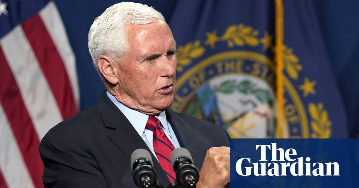 Pence rebukes Trump and says he was 'proud' to certify election result