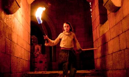 Saved by 'dancing master Syrio Forel ... Arya Stark.