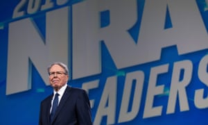 Wayne LaPierre, executive vice-president for the NRA, claims he's being pressured to resign.
