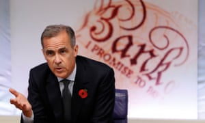 Mark Carney, the Bank of England governor