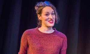 Phoebe Waller-Bridge on stage in Fleabag.