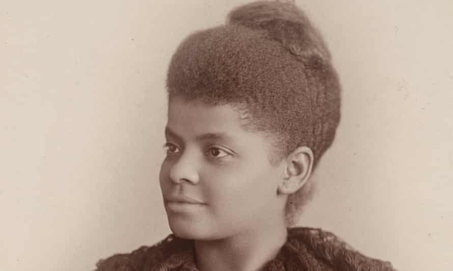 Ida B Wells, journalist and civil rights leader, seen c.1893.