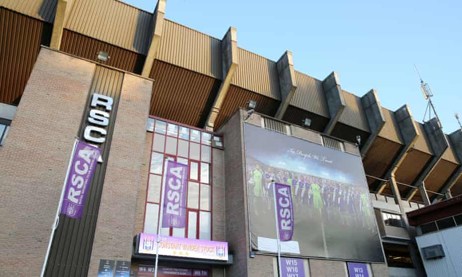 Anderlecht's Constant Vanden Stock Stadium in Brussels