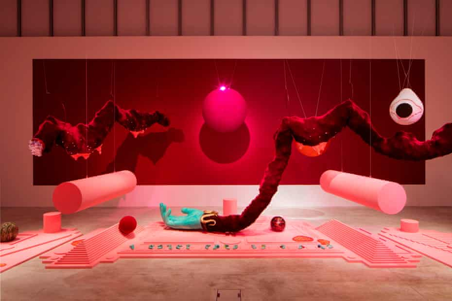 Tai Shani's installation: 'so wildly idiosyncratic it's hard to know where to begin'.