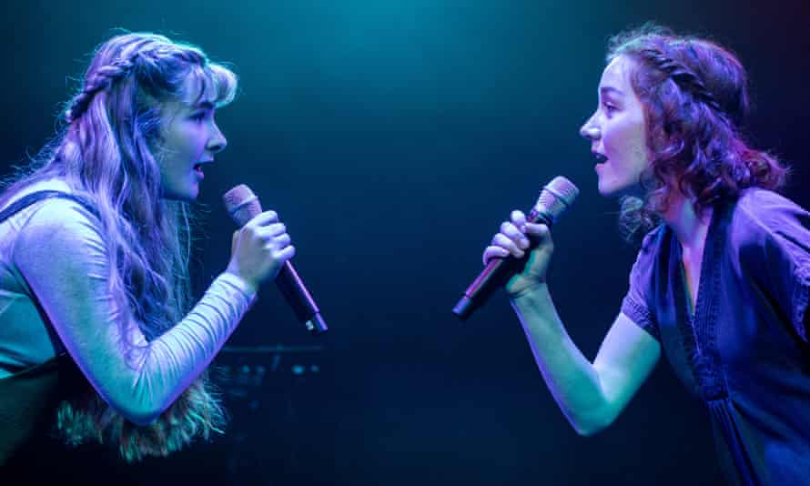 Bethany Tennick and Kirsty Findlay in Islander: A New Musical.