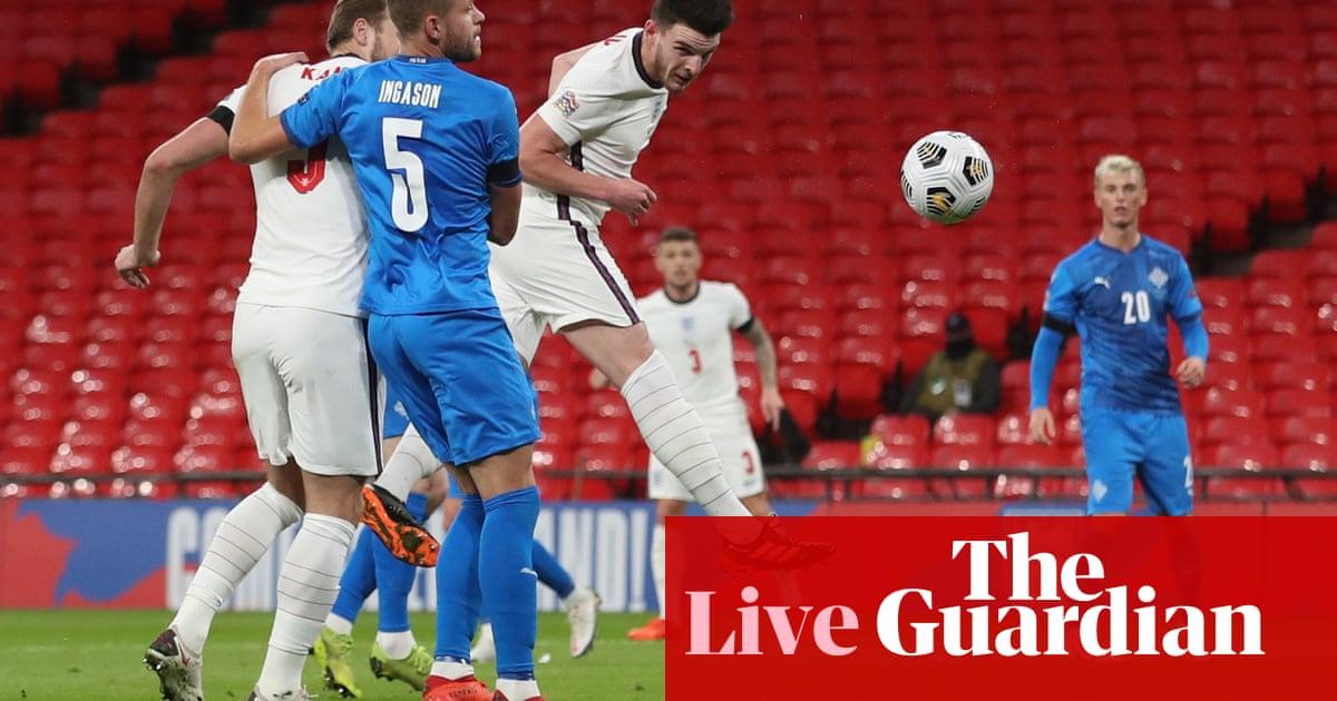 England v Iceland: Nations League – live updates!