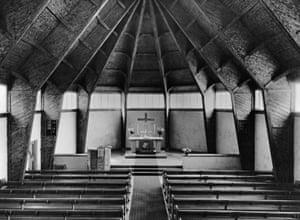 Emergency church programme after 1946, Johanneskirche, Wuppertal-Elberfeld, 1948/49
