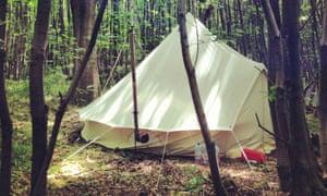 Bagdells Wood Camping, Gravesend, Kent