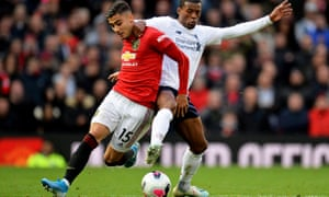 Andreas Pereira (left) worked tirelessly as Manchester United earned a draw against Liverpool.