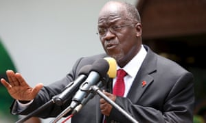 Tanzania's president, John Magufuli: policing women's bodies.