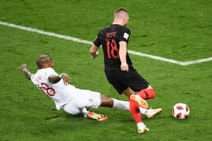 Then Ashley Young makes another terrific sliding tackle on Rebic.