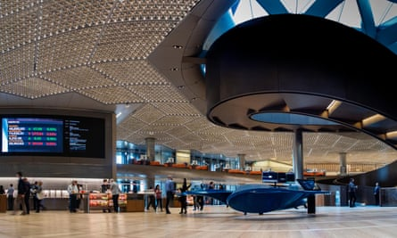 The interior of Bloomberg's HQ in London.