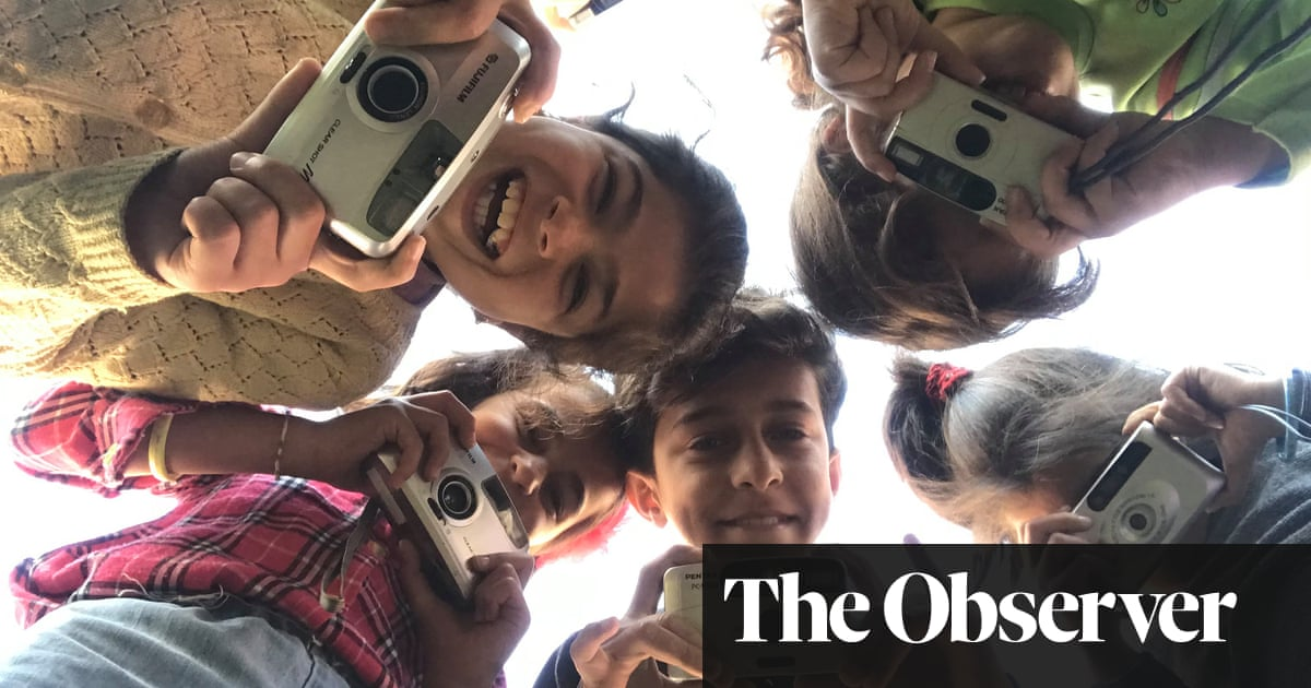 'Something magical happens': the cameras helping refugee children to heal