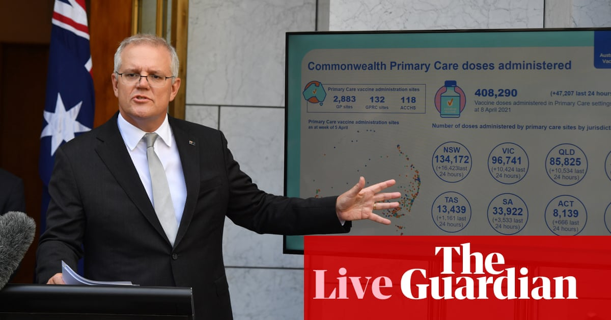Australia news live: national cabinet to meet twice a week to get coronavirus vaccine rollout back on track – The Guardian