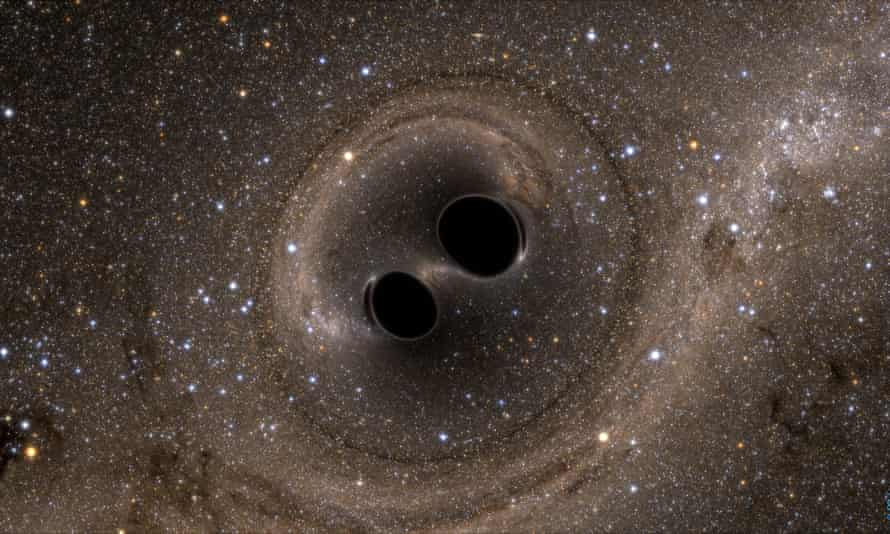 A computer simulation of the collision of two black holes