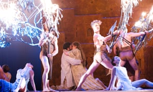 Drama and controversy ... Les Troyens (The Trojans) at the Royal Opera House in 2012.