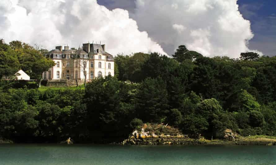 A chateau near Benodet