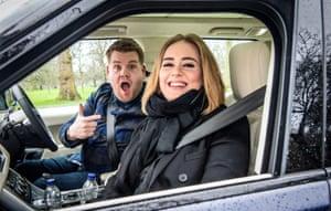 Adele with James Corden for Carpool Karaoke on The Late Late Show