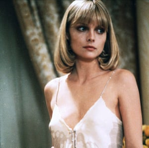 The new 70s boob look: Michelle Pfeiffer in Scarface.