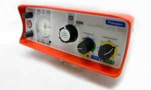 A Parapac ventilator from Smiths group
