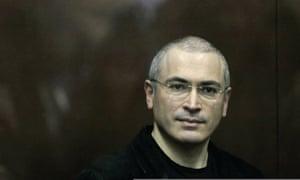 Mikhail Khodorkovsky in Citizen K documentary
