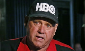Dennis Hof during an interview in Oklahoma City.