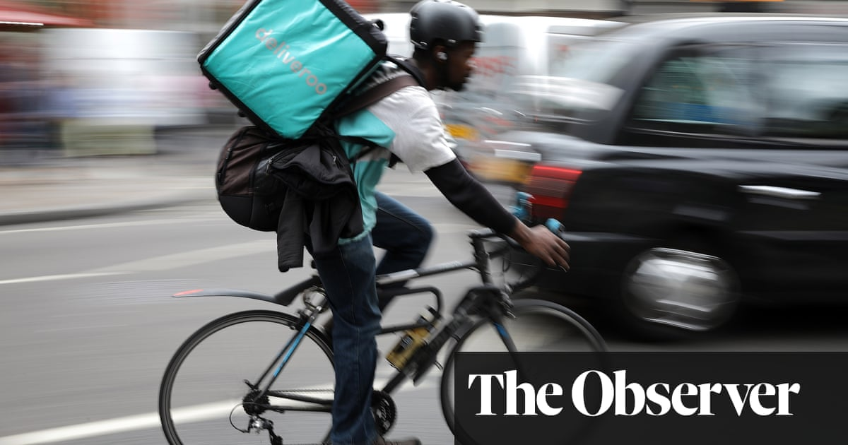 Deliveroo's £16m gift to loyal riders 'is no compensation for bad pay'