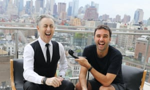 'Honest, sensitive and brilliant' ... Alan Cumming and Chris Sweeney helm the Homo Sapiens podcast.