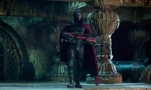 Sy as Bishop in X-Men: Days of Future Past.