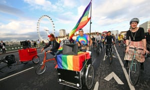 Ride with Pride kicks off Pride in London on Friday.
