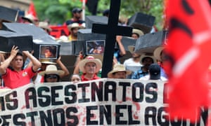 unified peasant movement honduras