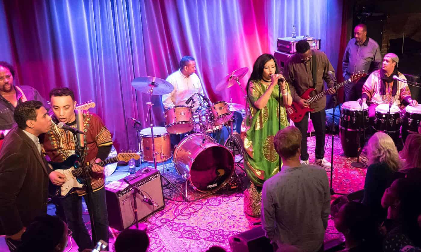 Dur-Dur Band review – rapturous welcome for lost Somali funk