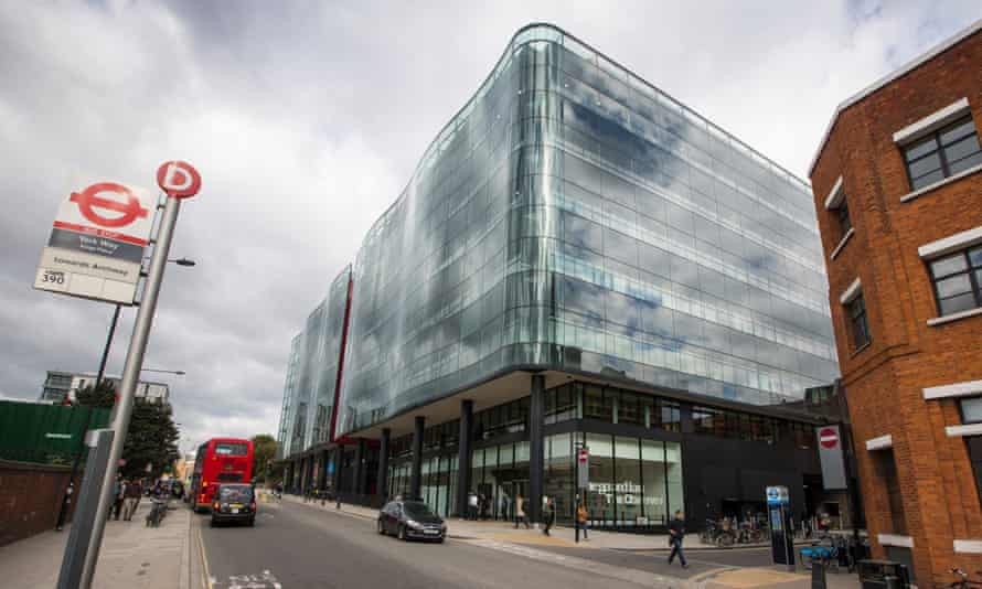 The Guardian's offices in King's Cross, central London.