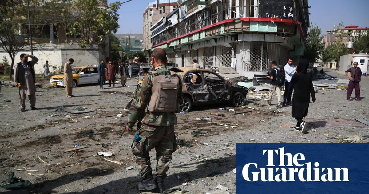 Taliban suicide-bomb attack targets defence minister's Kabul home