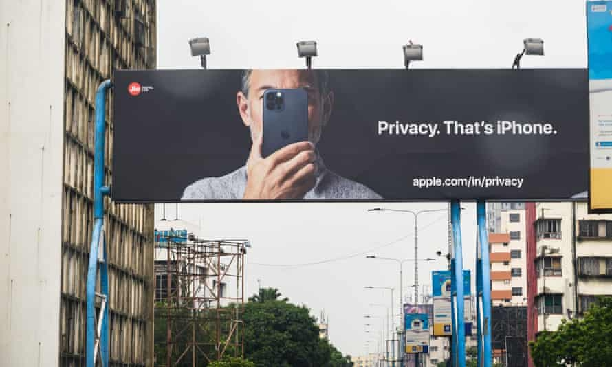 Apple has promoted its commitment to users' privacy.