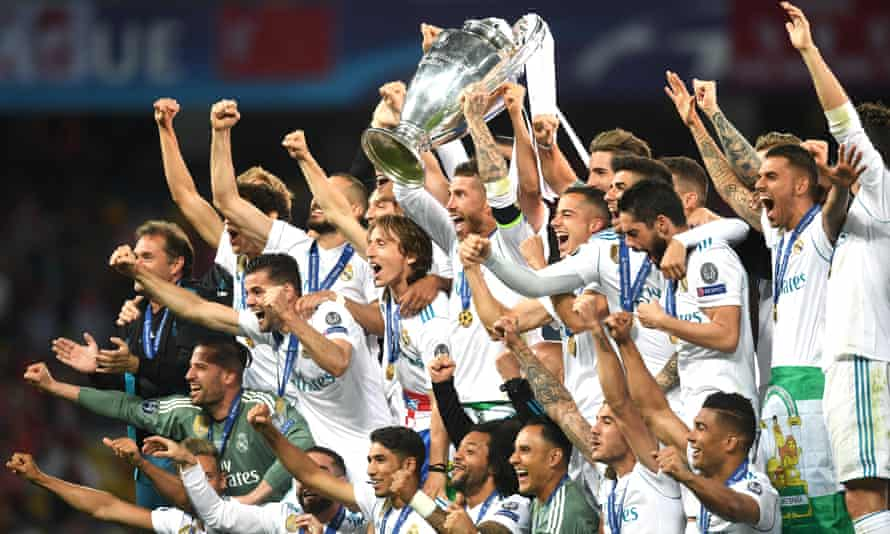 Real Madrid's victory over Liverpool in last May's Champions League final was their third successive win in the competition.