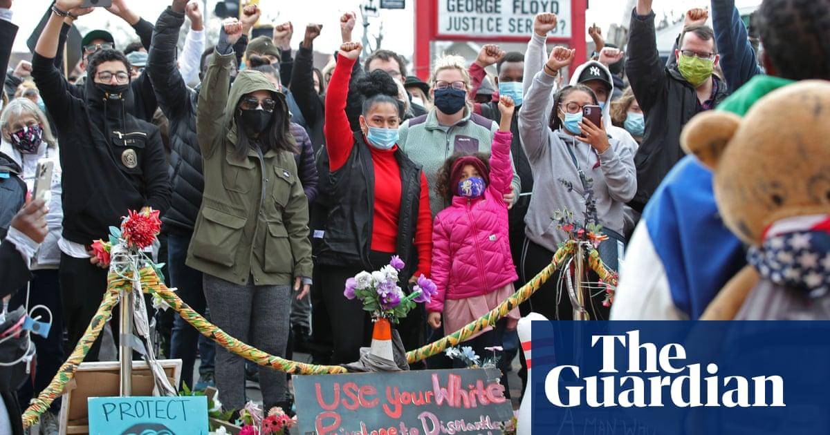 'I cried so hard': teen who filmed killing of George Floyd celebrates guilty verdict